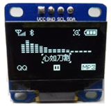 SSD1306 i2c OLED display 128x64