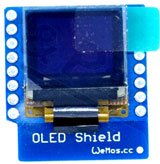 Wemos D1 mini OLED display 64x48